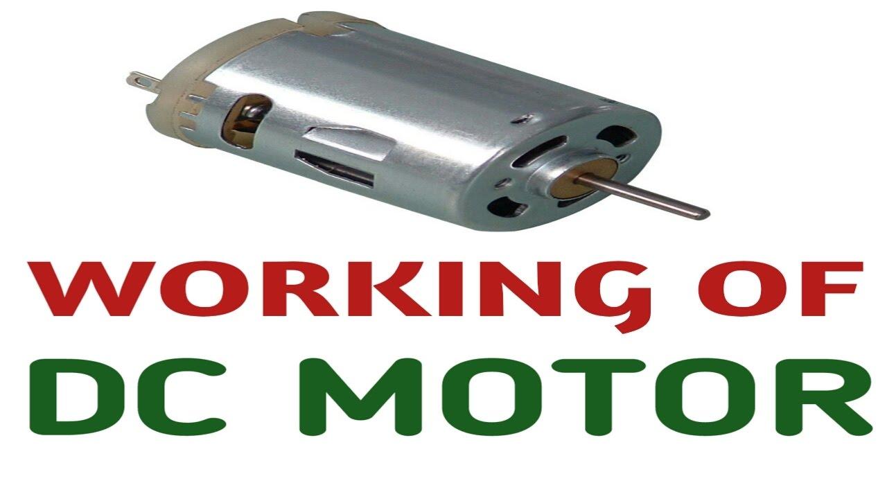 Working principle of dc motor in hindi how does a dc for Dc motor working principle video download