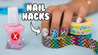 DIY WEIRD NAIL HACKS THAT WORK! Natalies Outlet