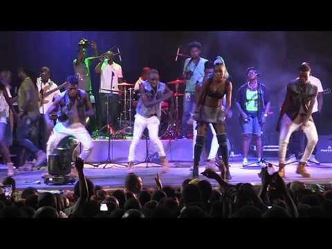 Performance Live de Natacha au Concert de Fally Ipupa à EFI Nyiakabiga