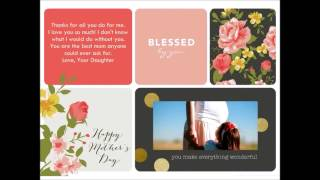 Mother's Day Messages For Mom From Daughter | Happy Mother's Day Greetings