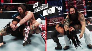 WWE 2K: TOP 5 Bray Wyatt matches