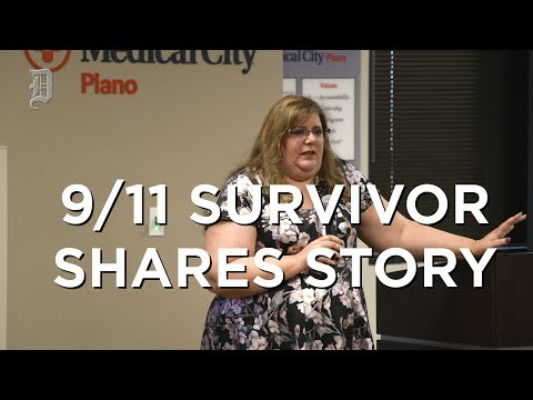 9/11 Survivor shares her story of getting out of World Trade One Tower