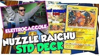 BUDGET DECK| DECK RAICHU NUZZLE |Mazzo Pokemon Eclissi Cosmica| Pokemon TCGO ITA