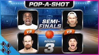 POP-A-SHOT ARCADE BASKETBALL TOURNAMENT #3: SEMIS - Creed vs. English & Breeze vs. Corbin