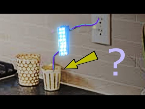 How To Connect Led To Ac, LED Night Light Does Not Cost Components