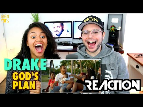 Drake - God's Plan | REACTION