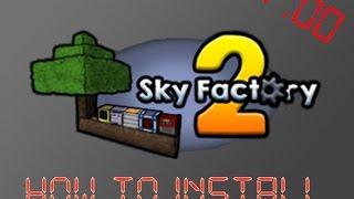 Minecraft Sky factory 2 install