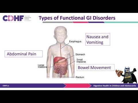 Overview of Functional Gastrointestinal Disorders in Children - Dr. Nicola Jones