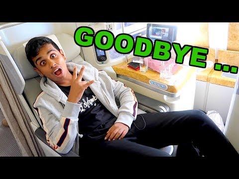 Goodbye Dubai , Hello Business Class !!!