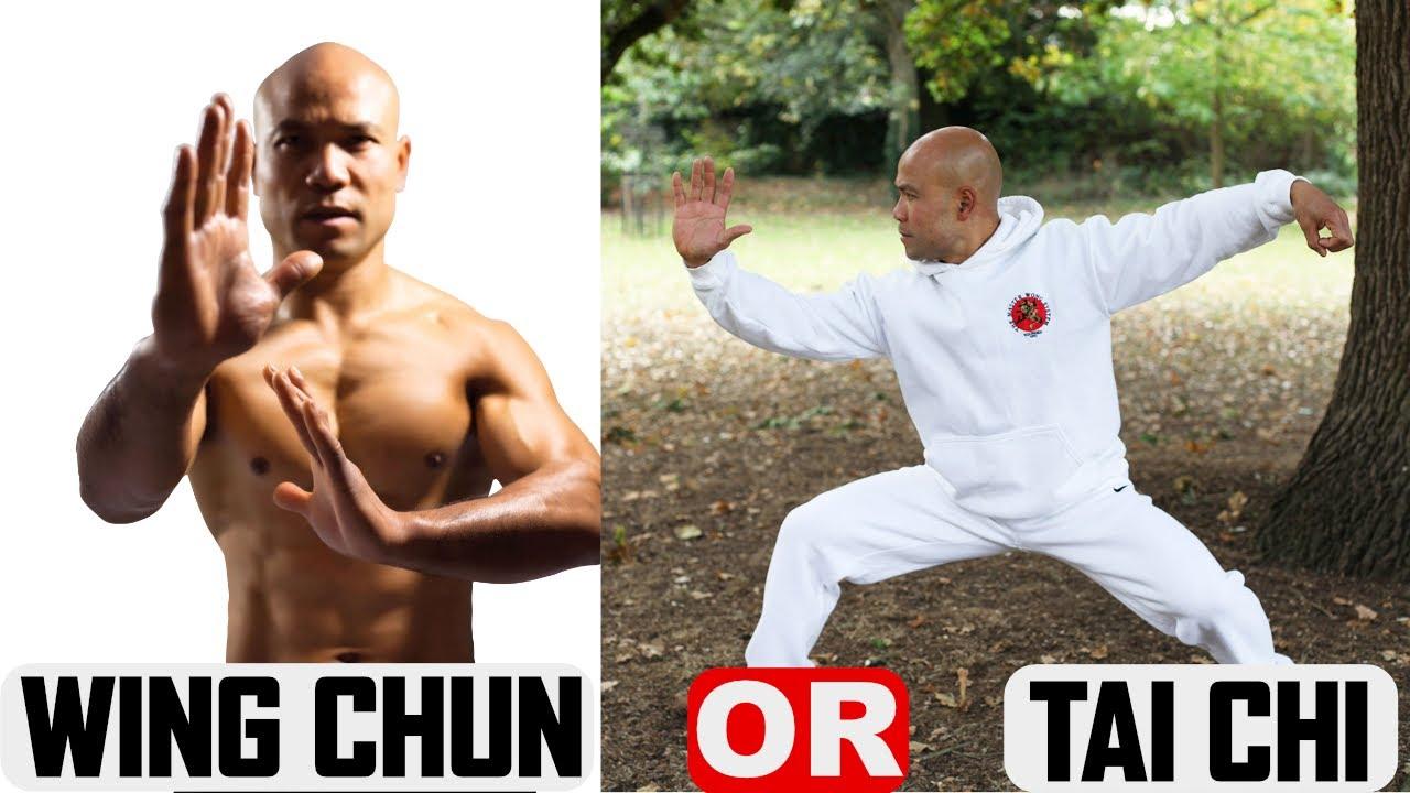 Do you like more Wing Chun or tai chi?