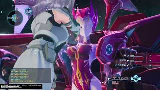 【SAOFB】 Extreme スノーストーム・エレシュキガル戦 (ソードアート・オンライン フェイタル・バレット)