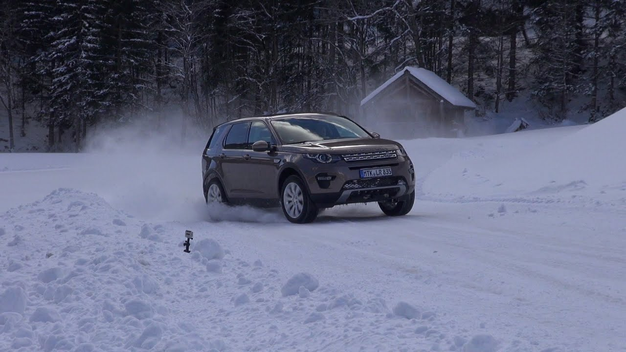Discovery Sport Wallpaper Android: Hot Lap Im Land Rover Discovery Sport Auf Schnee Und Eis