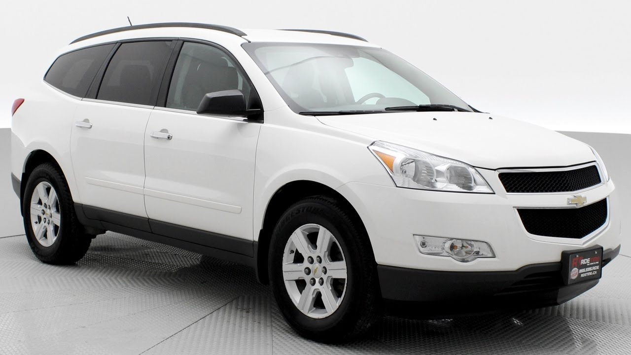 2012 chevrolet traverse lt awd does it really seat 8 people youtube. Black Bedroom Furniture Sets. Home Design Ideas