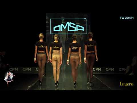 OMSA GRAND DEFILE Lingerie Magazine FW 2020 CPM Moscow