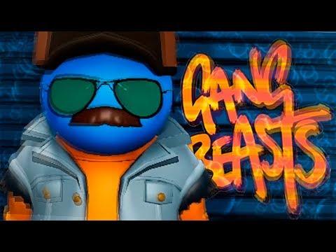 RUSOS BORRACHOS PELEANDO en la ESCUELA | Gang Beasts