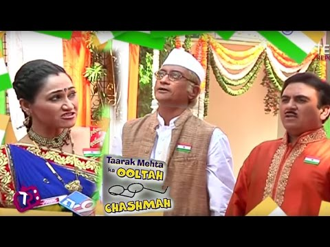 Republic Day Celebration on Taarak Mehta: 26th January 2017 | Disha Vakali & Dilip Joshi Interview