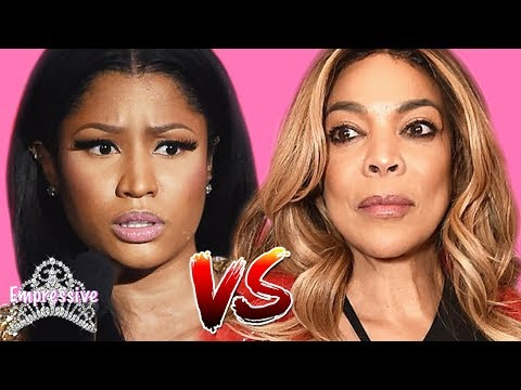 V Gomez - Nicki Minaj Slams Wendy William After Wendy Disses Her Husband!
