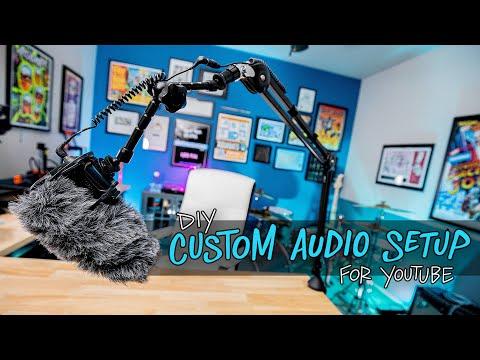 My DIY Custom Audio Setup For YouTube