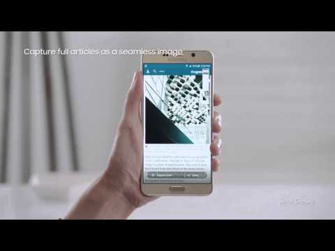 Samsung Galaxy Note5 Introductory Video