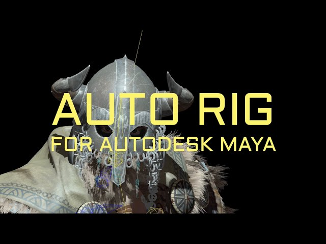 Rigger. Auto Rig for Autodesk Maya