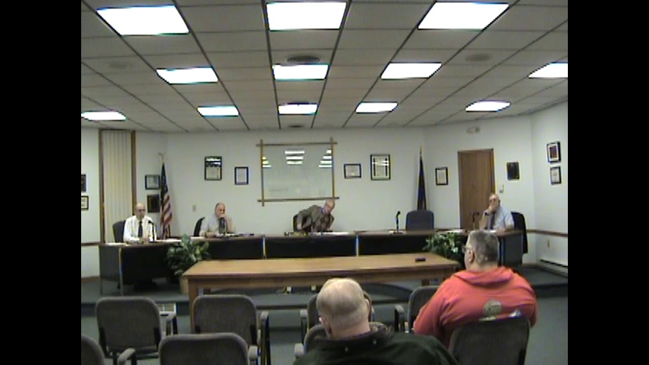 Rouses Point Village Board Meeting  2-20-18