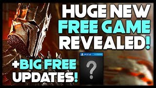 Free Updates To Ps4 Games + Huge New Free Game Announced!