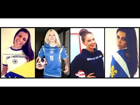 ⚜️ patriotic Bosnian girls💙💛BHF⚜️✨Bosniaks бошняки 💖⚜️Pozdrav Domovini
