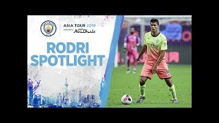 Rodri speaks about his debut for Man City! | ASIA TOUR