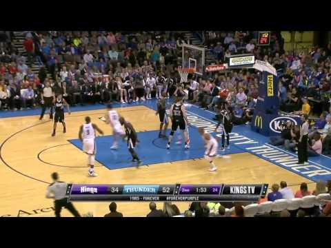 Sacramento Kings vs Oklahoma City Thunder | March 28, 2014 | NBA 2013-14 Season