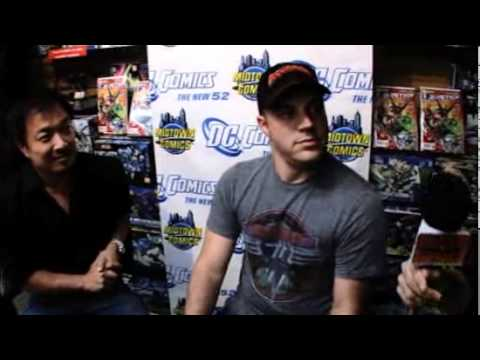 JIM LEE & GEOFF JOHNS Talk JUSTICE LEAGUE #1 @ NYC Premiere