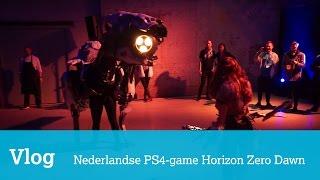 Vlog: op bezoek bij Nederlandse makers van nieuwe PS4-game Horizon Zero Dawn