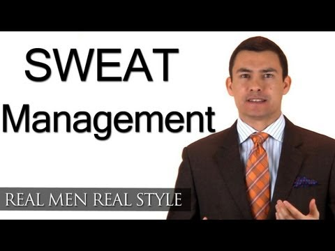 Sweat Management - How To Deal With Excessive Sweating - Sweat Proof Undershirts - Antiperspirant