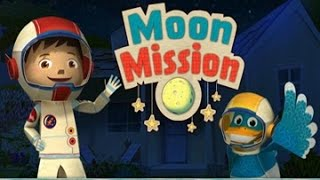 Zack and Quack - Pop-up Moon Mission Kids Games