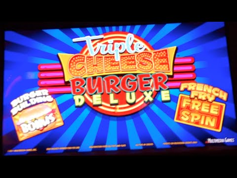 cheeseburger deluxe slot machine