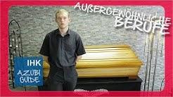 Außergewöhnliche Berufe: Der Bestatter | IHK Azubi Guide