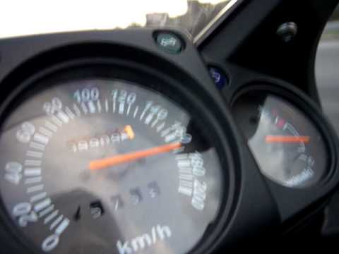 Kawasaki Ninja 250r 170kmh Greece Youtube