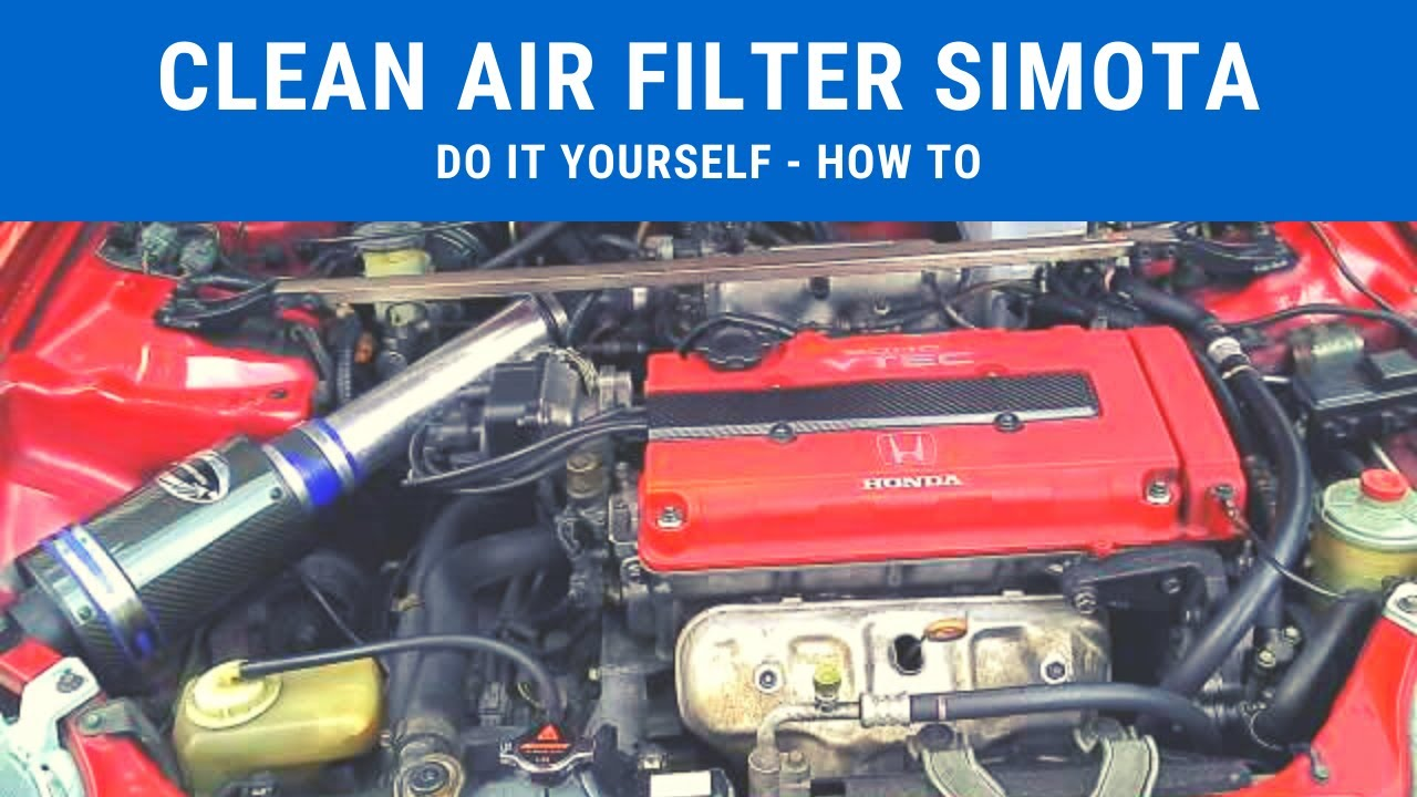 Do It Yourself Clean Simota Air Intake With Household