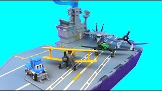 disney planes aircraft carrier playset with jolly wrenches dusty just4fun290 fire rescue