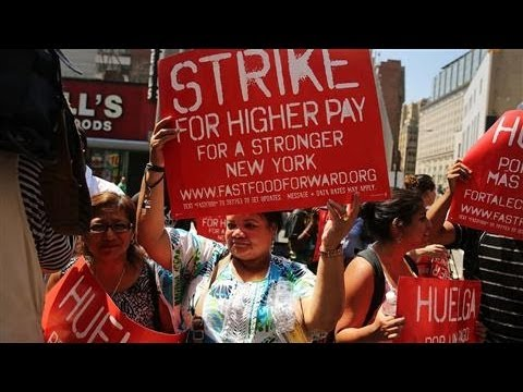 Fast-Food Workers Strike Across the Globe