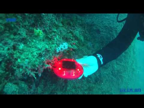 YDM solar stud under the sea in Italy in Europe