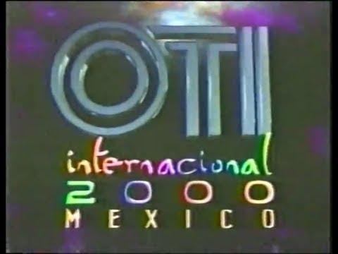 Festival OTI de la Canción 2000 - Final (Video completo, con fallas de audio de origen)