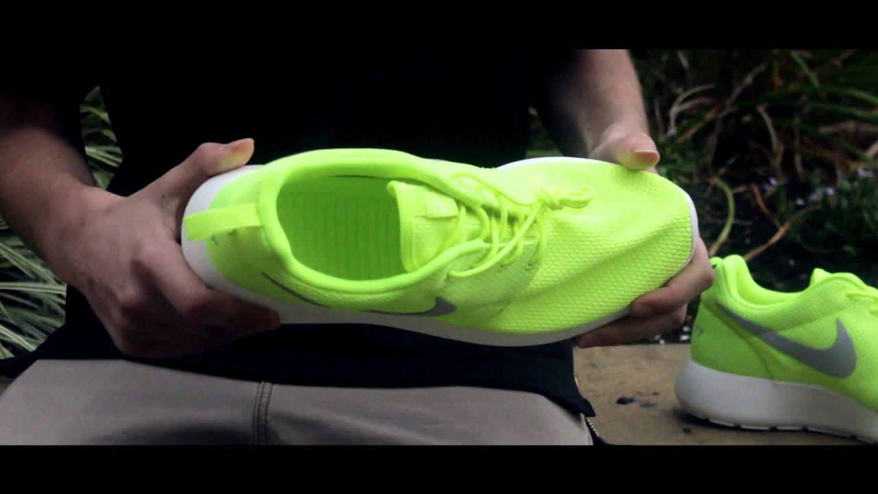 c779704e1bd37 ... grey cf657 0e211  australia nike roshe run ids volt green review on  foot youtube 80530 727c1