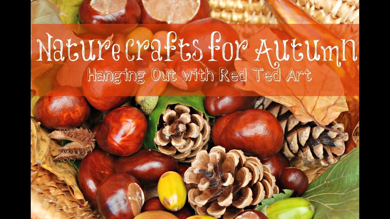 Nature Autumn Crafts - YouTube - photo#18