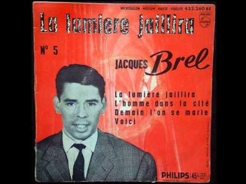JACQUES BREL -  Voici  (avec Francois Rauber et son orchestre)