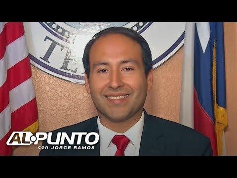 """""""Peligrosa y discriminatoria"""": así describe Raúl Reyes, alcalde de El Cenizo, Texas, la SB4"""