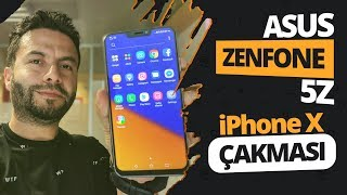 iPhone X'in Android klonu ASUS Zenfone 5Z elimizde! - MWC 2018