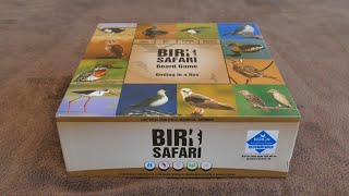 Bird Safari Board Game - learning about birds of southern Africa