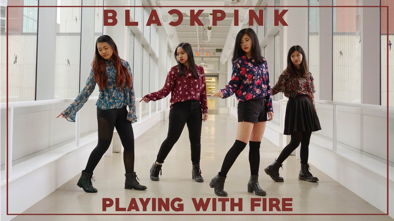 Apricity Blackpink Playing With Fire 불장난 Dance Cover