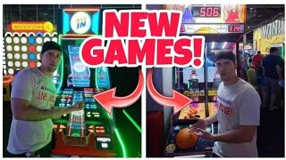 ALL IN AND BASKETBALL PRO! NEWEST GAMES AT DAVE N BUSTER'S!