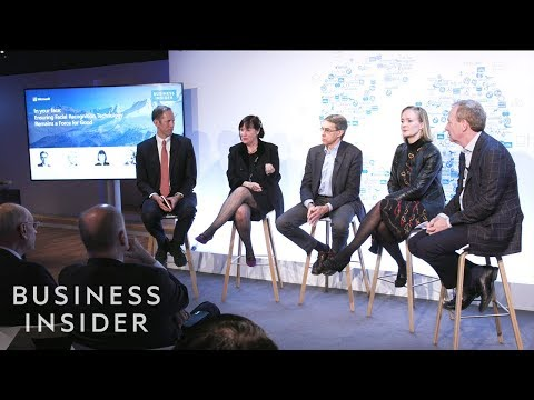 Henry Blodget Leads A Panel On Facial Recognition Technology | Davos 2019